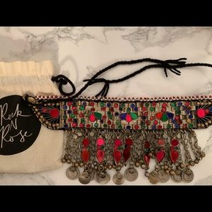 ROCK N ROSE ETHNIC GYPSY COIN NECKLACE